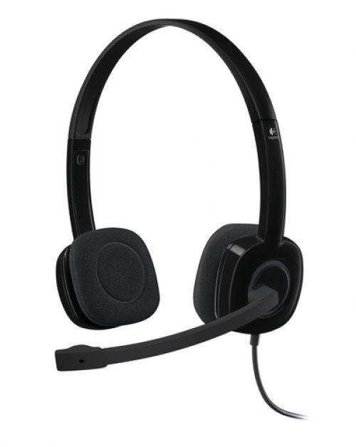 Cascos Logitech H151 Stereo Auriculares