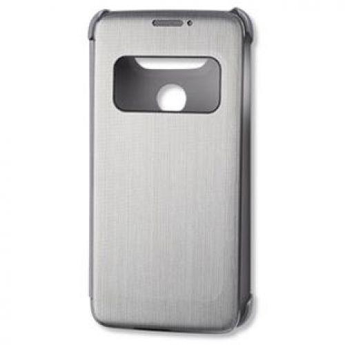 Étui LG Quick Circle Book-Cover CFV-160 G5,G5 SE Argent