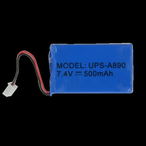 Chuango Batterie de secours lithium Rechargeable 7.4 V 500 mAh Compati