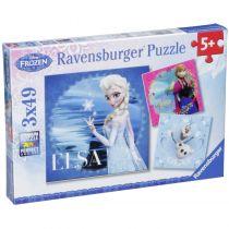 buy Sports & Outdoor Toys - Ravensburger Elsa, Anna & Olaf 3 X 49 pcs Puzzle  Disney Frozen | 5+