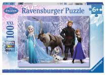 achat Jouet d' Extérieur - Ravensburger In The Realm Of Snow  100 pcs XXL  Disney Frozen