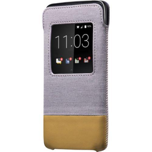 Étui BlackBerry DTEK50 Smart Pocket (Gray/Tan) ACC-63006-002