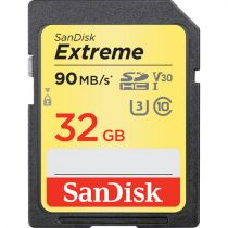 Comprar Tarjeta Micro SD / TransFlash - SanDisk MicroSDHC ActionSC  32GB Extreme V30   SDSDXVE-032G-GNCIN