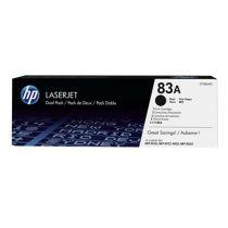 achat Toner imprimante HP - HP TONER 83A PACK 2 Noir