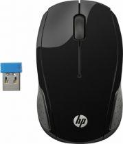 achat Souri sans fils - HP 200 Noir Sans fil Mouse X6W31AA#ABB