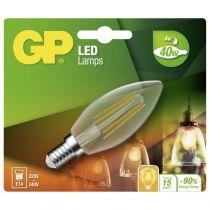 Comprar Lamparas LED - GP Lighting Filament Candle E14 4W (40W)  470 lm 745GPCAN078128CE1