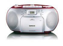 Comprar Radio Cassettes y reprodutores CD - Radio CD Lenco SCD-420 red