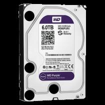 Comprar Accesorios CCTV - Western Digital Disco duro 6 TB Interfaz SATA 6 Gb/s Modelo WD60PURX HD6TB