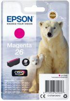 Comprar Cartucho de tinta Epson - EPSON Cartucho Tinta MAGENTA 26 CLARIA PREMIUM C/AL C13T26134022