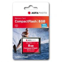 achat Compact Flash - AgfaPhoto Compact Flash      8Go High Speed 233x MLC 10433