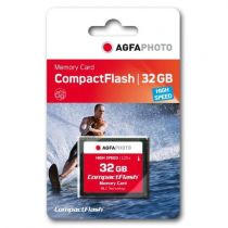 Comprar Compact Flash - AgfaPhoto Compact Flash     32GB High Speed 300x MLC 10435