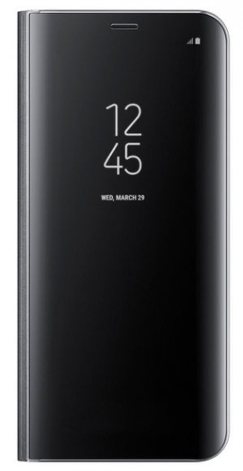 Funda Samsung Galaxy S8 Plus Clear View Standing Cover Negro EF-ZG955C