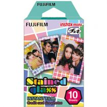 Comprar Película instantánea - Fujifilm Instax Film Mini Stained Glass 16203733