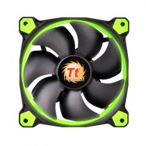 Comprar Coolers - Thermaltake Radiator Fan Riing 12 LED Green / SET of 3 CL-F055-PL12GR-A