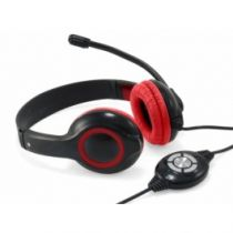 buy Conceptronic Headphones - Conceptronic USB Headset - Black and Red - preço válido for unid p