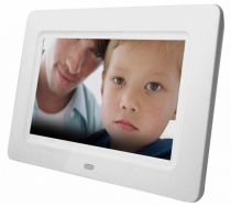 buy Digital Photo Frames - Digital Photo Frame Braun DigiFrame 7060 white 17,8cm (7 )