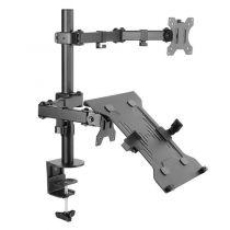 achat Support LCD Plasma - Equip Support TV 13´´-32´´ Vesa Support De Bureau 360º Rotation, 180º