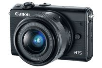 buy Canon Digital Cameras - Digital Camera Canon EOS M100 Kit Black + EF-M 15-45
