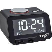 buy Alarm clock - TFA 60.2017.01 Hometime Digital Alarm clock