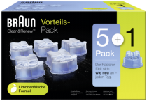 Braun CCR 5+1 Clean & Renew Cartridges