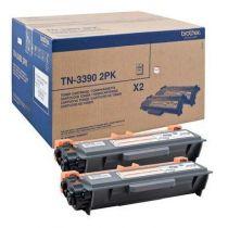 Comprar Toners Brother - Brother Toner Mega Capacidade Twin (2x) - duração: 24.000 pág.(12.000  TN3390TWIN