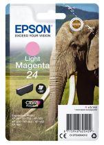 Comprar Cartucho de tinta Epson - Epson Cartucho Tinta Magenta claro Série 24 Elefante Tinta Claria Phot