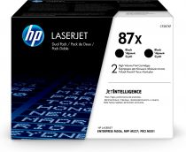 achat Toner imprimante HP - HP 87X 2-pack High Yield Noir Original LaserJet Toner Cartridges ( CF287XD