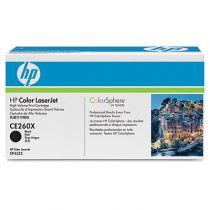 Comprar Toners HP - HP Color LaserJet CE260X Negro Print Cartridge CE260X