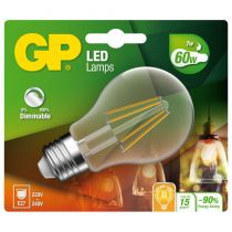 Comprar Lamparas LED - GP Lighting Filament Classic E27 7W (60W) dimmable 806 lm 745GPCLAS078234CE1
