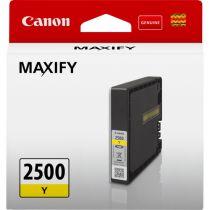 achat Encre imprimante Canon - Canon PGI-2500 Yellow Ink Cartridge 9303B001