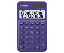 achat Calculatrices - Calculatrice Casio SL-310UC-PL violet