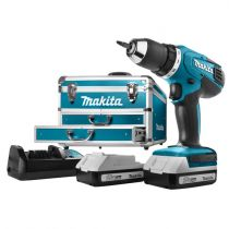Comprar Atornilladores a batería - Makita DF457DWEX6 2x1,3 Ah + 102 pcs Acc. + Case