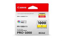 achat Encre imprimante Canon - Canon Encre Imprimante PFI-1000 de 80 ml Y 0549C001
