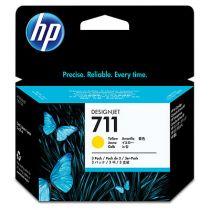 Comprar Cartucho de tinta HP - HP 711 3-pack 29-ml Amarillo Ink Cartridges CZ136A