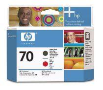 buy HP Ink Cartridge - HP Cabeça de Print HP 70 Matte Black  Red