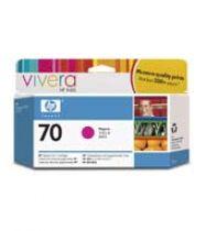 achat Encre imprimante HP - HP 70 130 ml Magenta Ink Cartridge with Vivera Ink C9453A