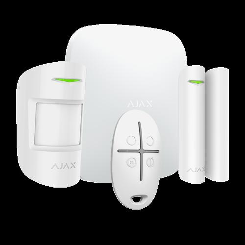 Ajax AJ-HUBKIT-W Sistema de alarme Sans fils GPRS/LAN Protocolo Jewell