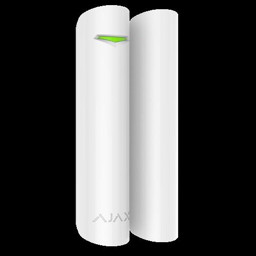 Ajax AJ-DOORPROTECTPLUS-W Contacto de porta/janela magnético avec dete