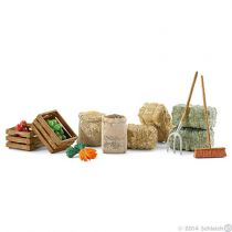 achat Figures Animaux - Schleich Horse Club Farm Life Feed set