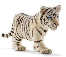 achat Figures Animaux - Schleich Wild Life Tiger Cub, Blanc