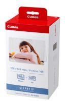 achat Accessoires POS - Canon KP-108 IN 10x15 cm print cartridge/paper kit 3115B001