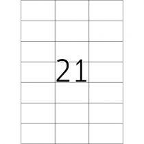 Comprar Papel - Herma Labels           70X42,3 10 Sheets DIN A4 210 pcs. 8634 8634