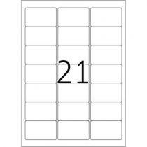 achat Papier - Herma Repositionable Labels 5074 25 Sheet 525 pcs.    63,5x38,1 5074