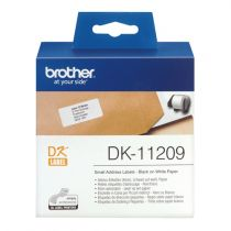 Comprar Papel - Brother Adress labels Blanco 29 x 62 mm 800 pcs.     DK-11209 DK11209