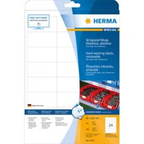 Comprar Papel - Herma hard-wearing Labels 66,0 x33,8 20sheets Branco 480pc. 4573