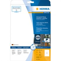 Comprar Papel - Herma hard-wearing Labels  210x 297 20 sheets Blanco 20pcs  4577