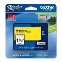 buy Printer Ribbon - Brother Fita laminada de 36 mm, comprimento: 8m - Texto Black sobre fu