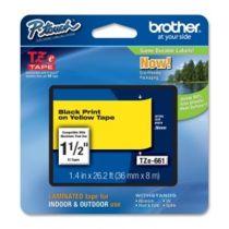 Comprar Cinta impresión - Brother Fita laminada de 36 mm, comprimento: 8m - Texto Negro sobre fu TZe661