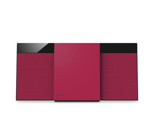 Microcadena Panasonic SC-HC304EG-R red