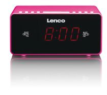 Comprar Relojes y despertadores - Despertador Lenco CR-510 pink